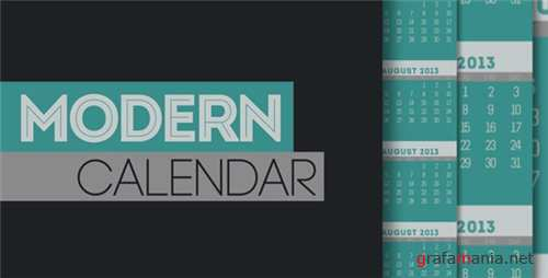 Modern Calendar - After Effects Project (Videohive)