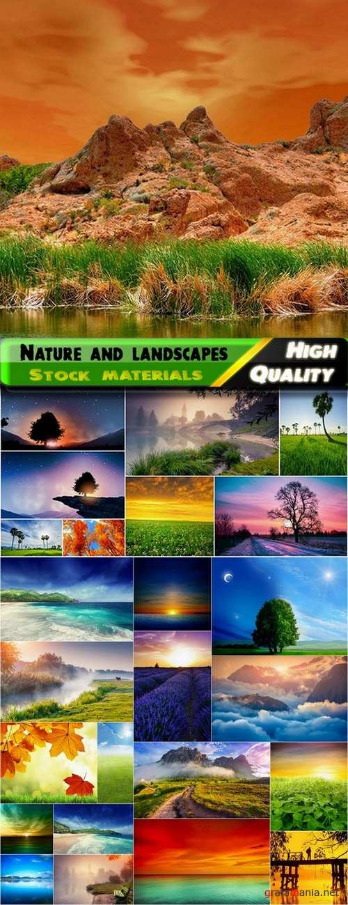 Beautiful nature and landscapes Stock Images #2 - 25 HQ Jpg