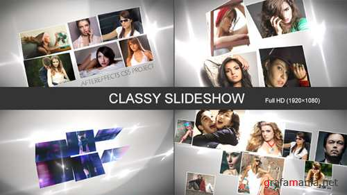 Classy Slideshow 7927114 - Project for After Effects (Videohive)