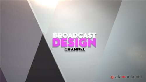 Broadcast Design Channel Ident - After Effects Project (Videohive)