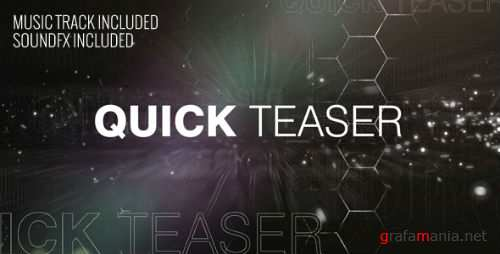 Quick Teaser - After Effects Project (Videohive)