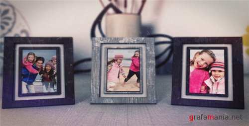 Photo Frames (Memories) - After Effects Project (Videohive)