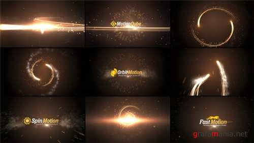 Streaks Logo Sting Pack - After Effects Project (Videohive)