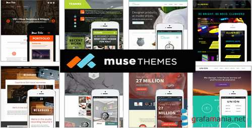 Musethemes Mega Bundle Web Site Templates