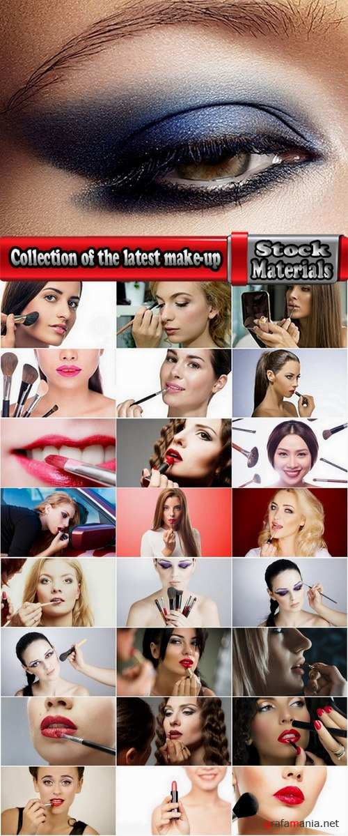 Collection of the latest make-up beautiful female #2-25 UHQ Jpeg