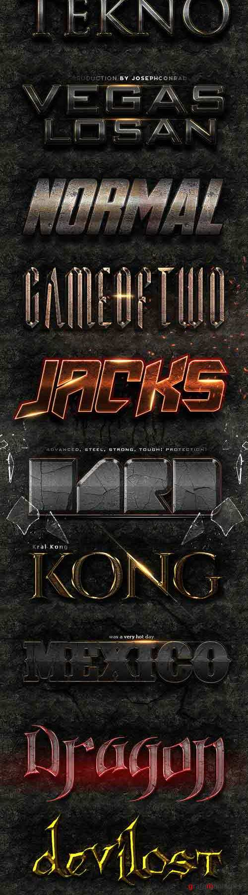 Graphicriver - King Text Styles v2 9061050