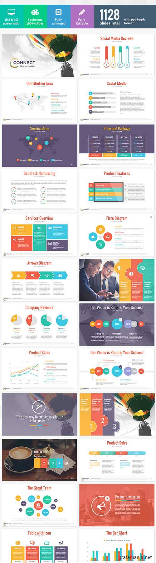 GraphicRiver - Connect - Modern Powerpoint Template 8957333