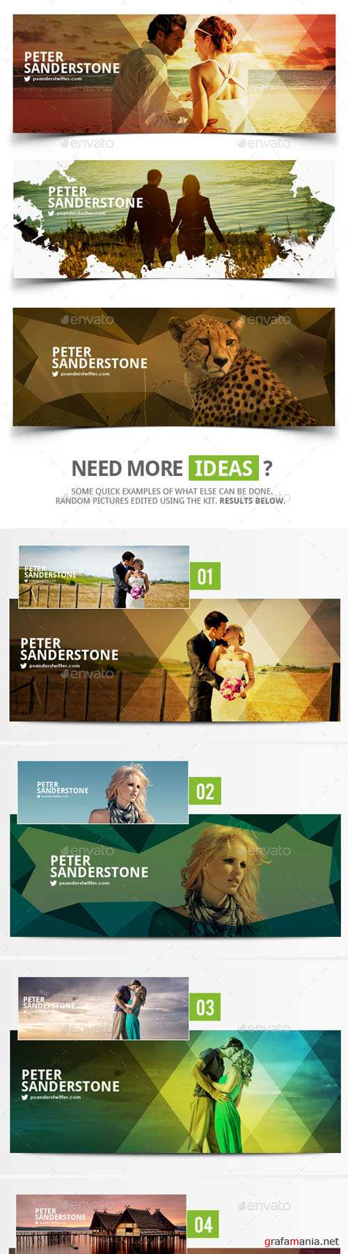 GraphicRiver - Facebook Covers 8977291