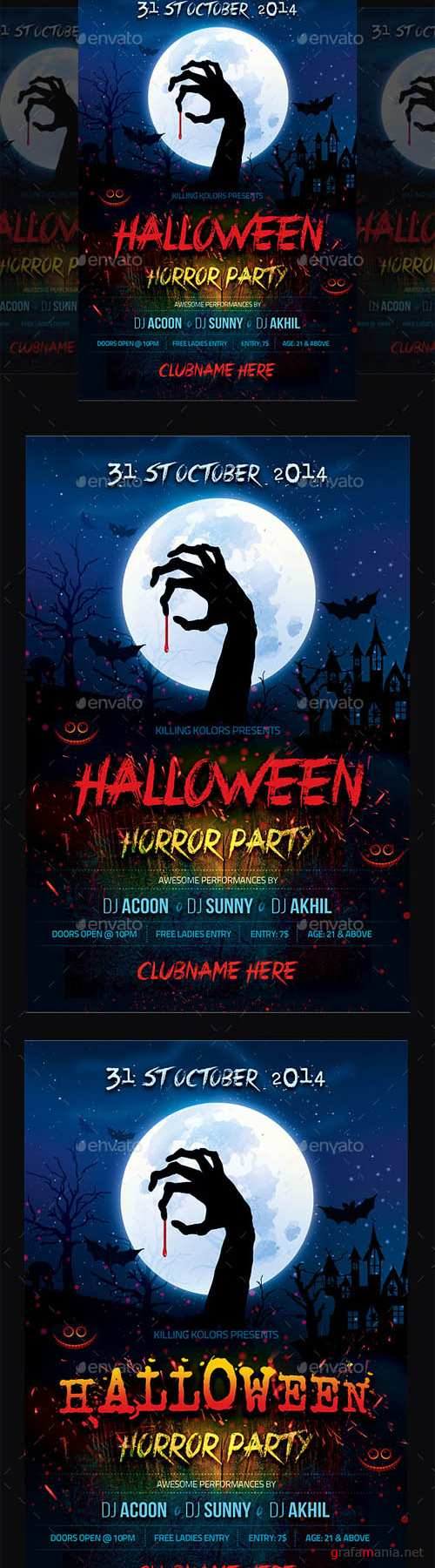 GraphicRiver - Halloween Party 8956697