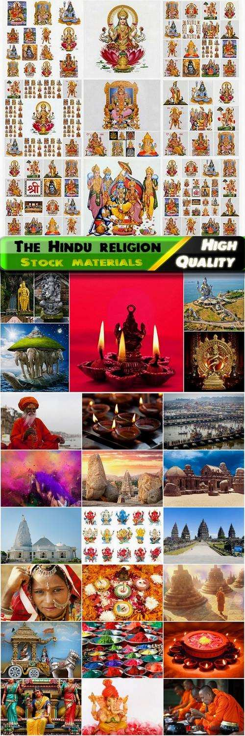 The Hindu religion Stock images - 25 HQ Jpg