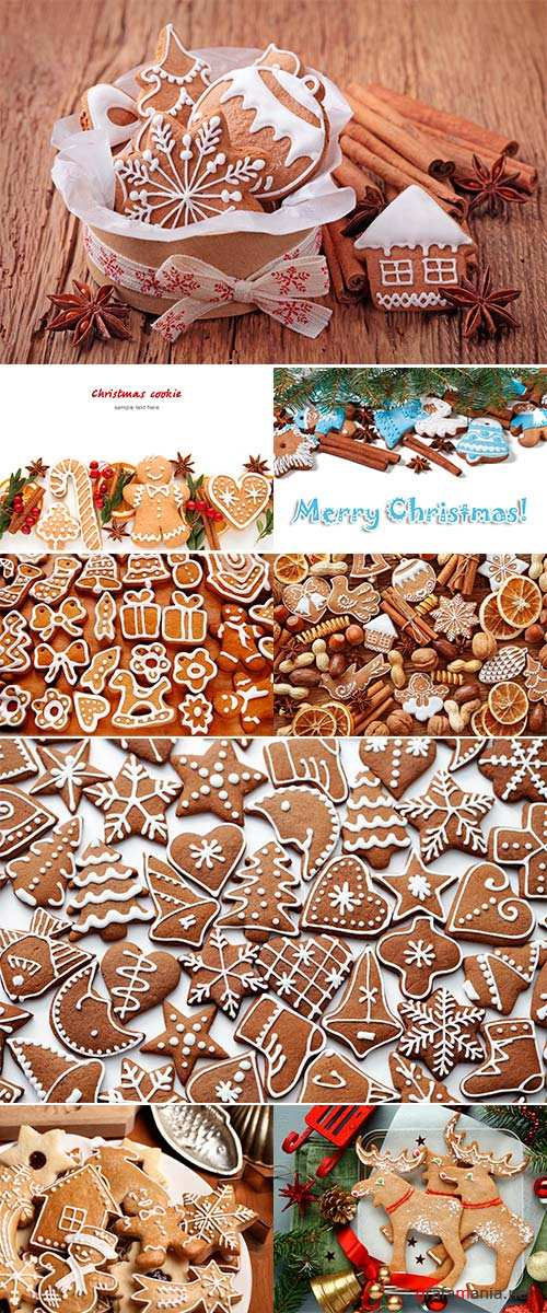 Stock Photo Christmas cookies with spices, Christmas time