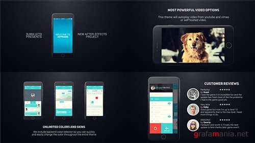 Iphone 6 App Presentation - After Effects Project (Videohive)
