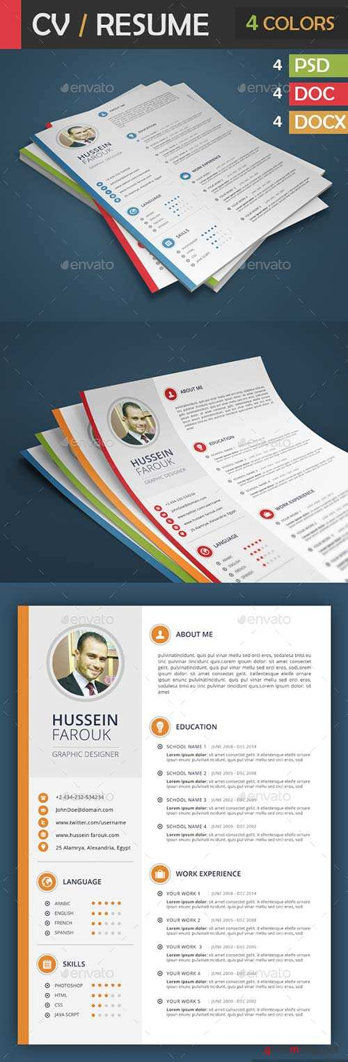 GraphicRiver CV / Resume