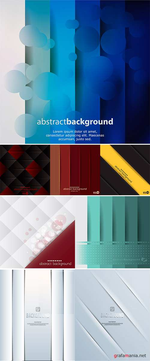 Stock Graphic layout vector background