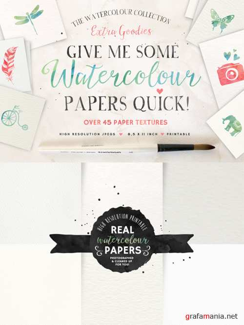 CreativeMarket - Give me some Papers Quick 94409