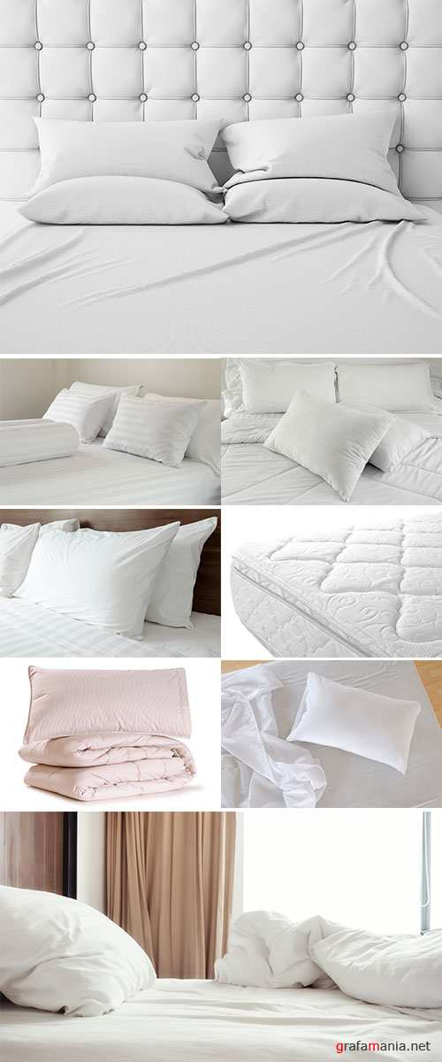Stock Photo Mattresses and pillows