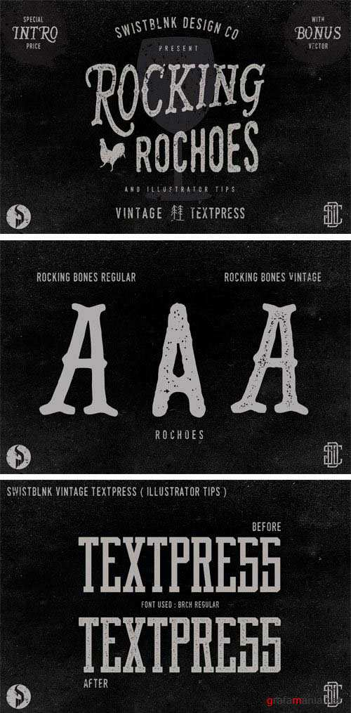 Rocking Rochoes Font Family
