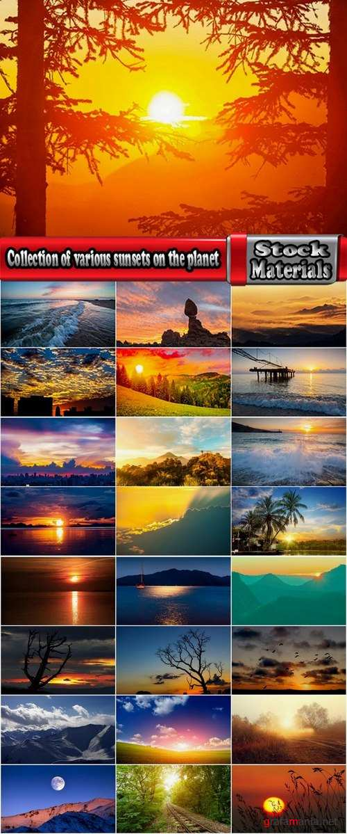 Collection of various sunsets on the planet 25 UHQ Jpeg