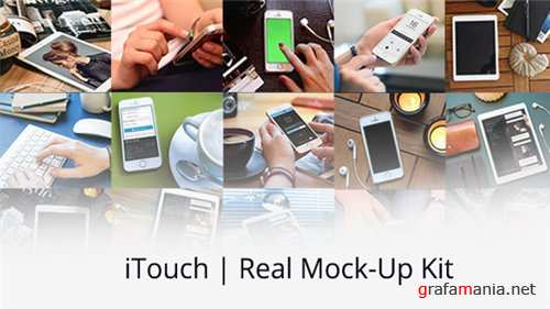 iTouch | Real Mock-Up Kit - After Effects Project (Videohive)