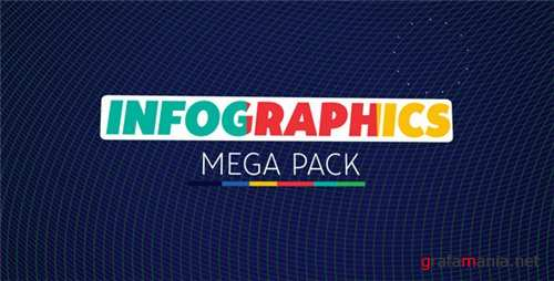 Infographics Mega Pack - After Effects Project (Videohive)