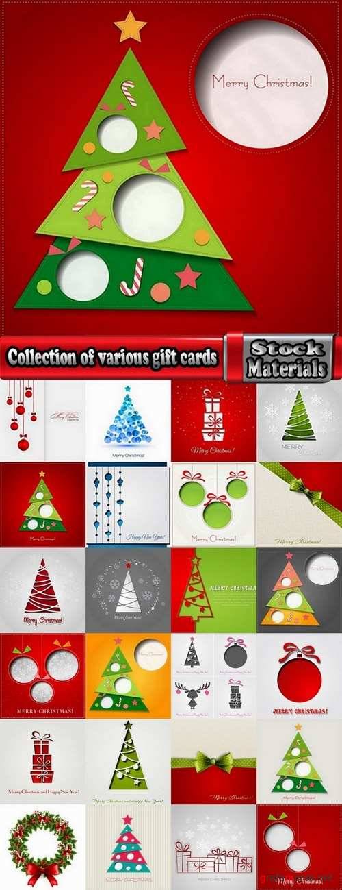 Collection of various gift cards #4-25 Eps