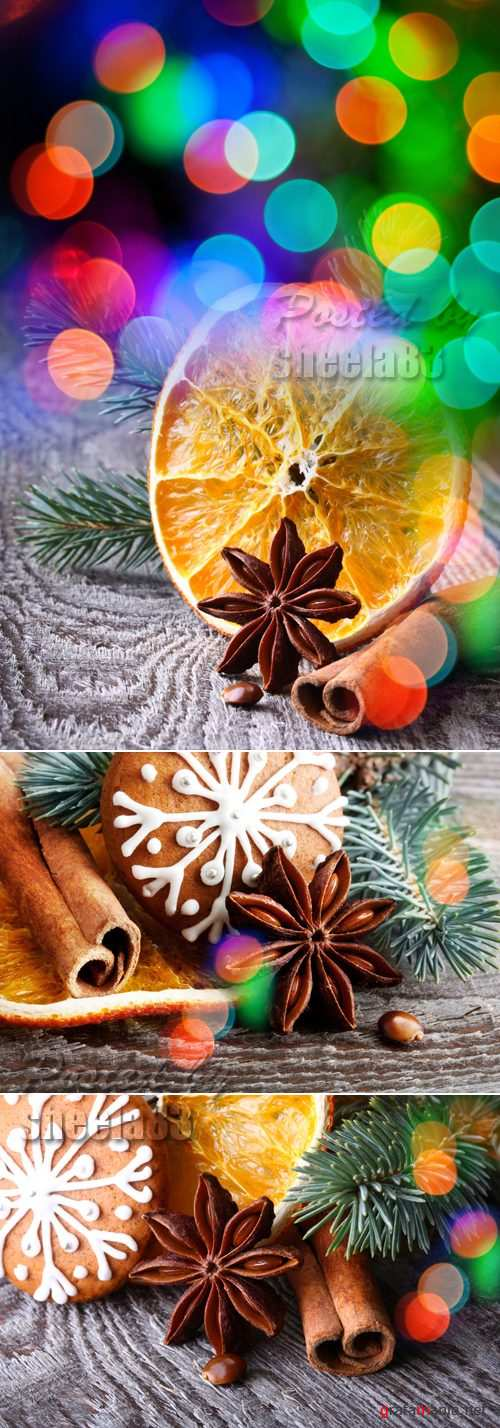 Stock Photo - Christmas Spices