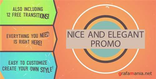 Nice and Elegant Promo - After Effects Project (Videohive)