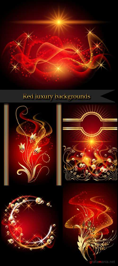 Red luxury backgrounds