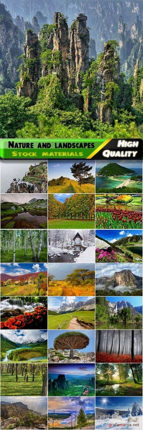 Beautiful nature and landscapes Stock Images #4 - 25 HQ Jpg