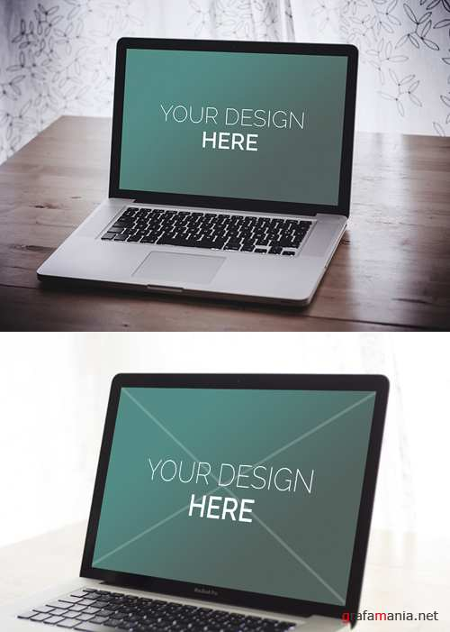 MacBook Pro Mock-ups  PSD