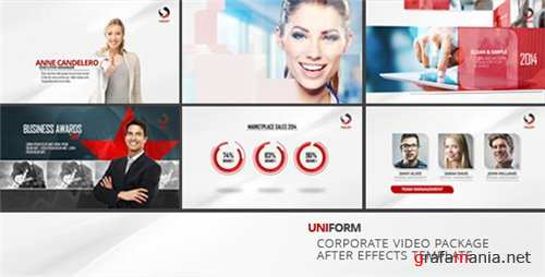 Uniform - Corporate Video Package - After Effects Project (Videohive