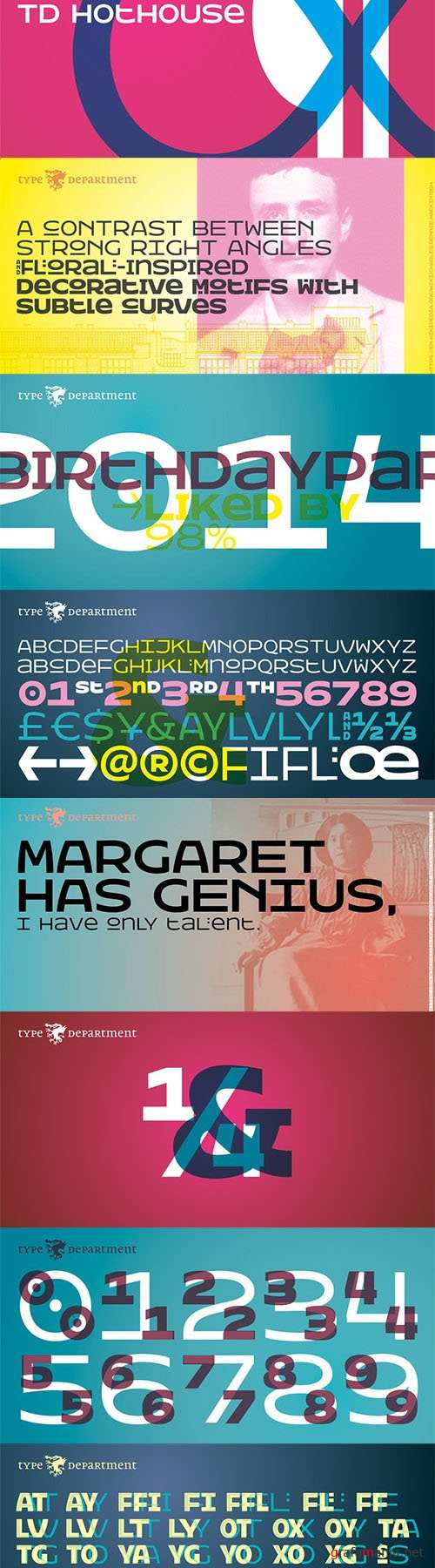 TD Hothouse Font Family