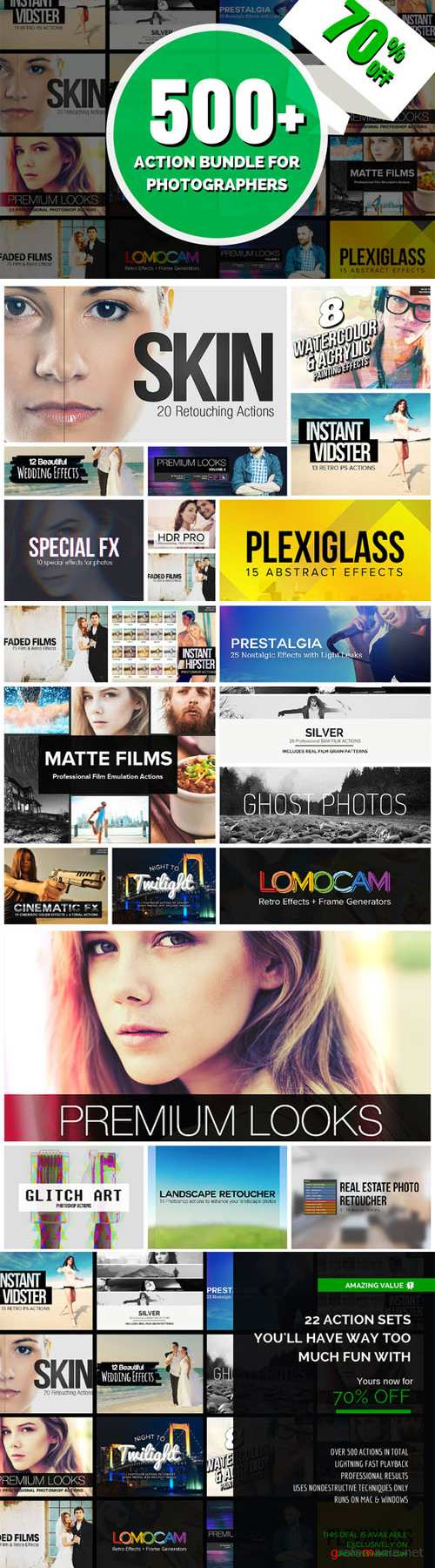 CreativeMarket - 500+ Action Bundle
