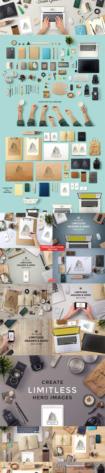 CreativeMarket - Art Equipments Scene Generator V2 83407