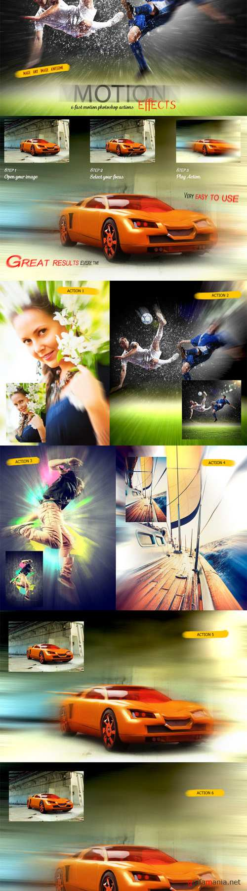 CreativeMarket - Fast Motion Effects 6283