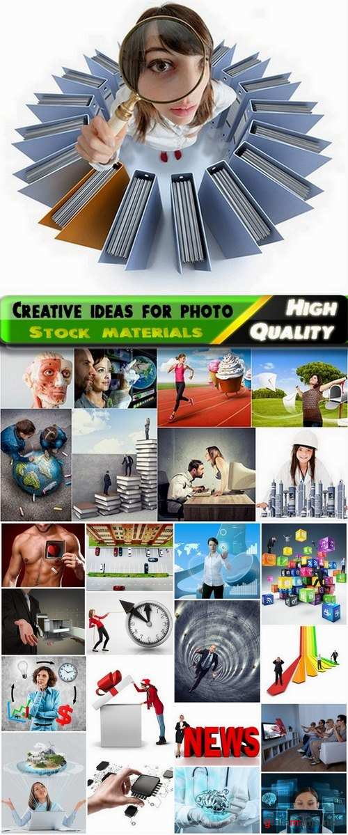 Creative ideas for photo Stock images #5 - 25 HQ Jpg