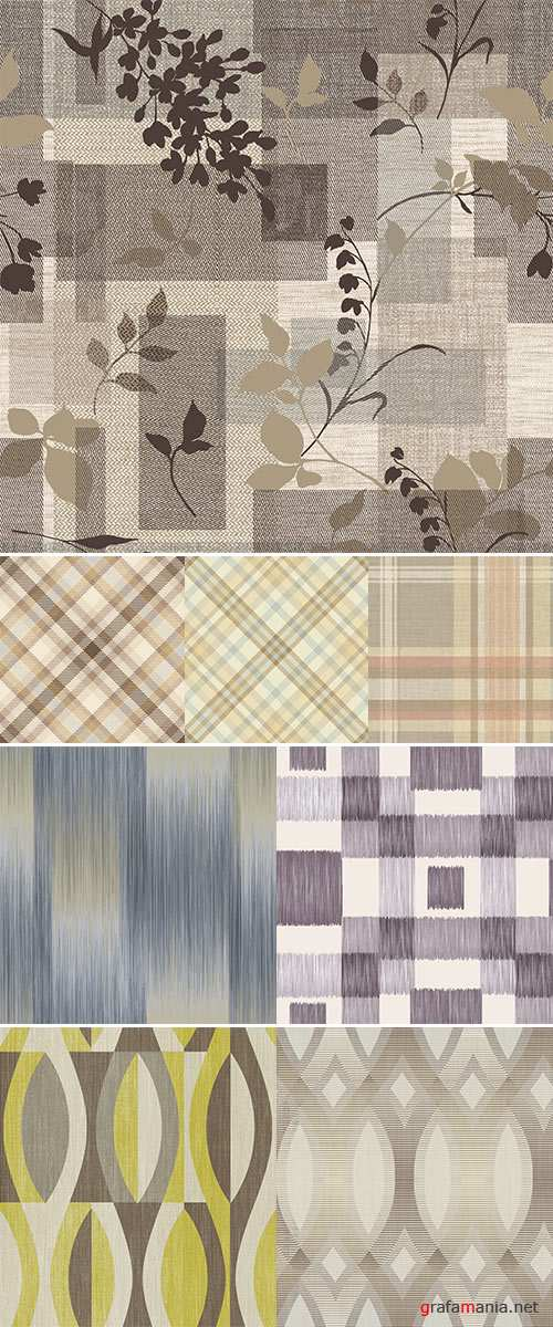 Stock Photo pattern in fashion trend colors Seamless pattern wrapper