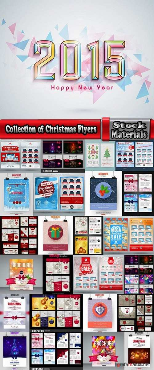 Collection of Christmas Flyers 25 Eps