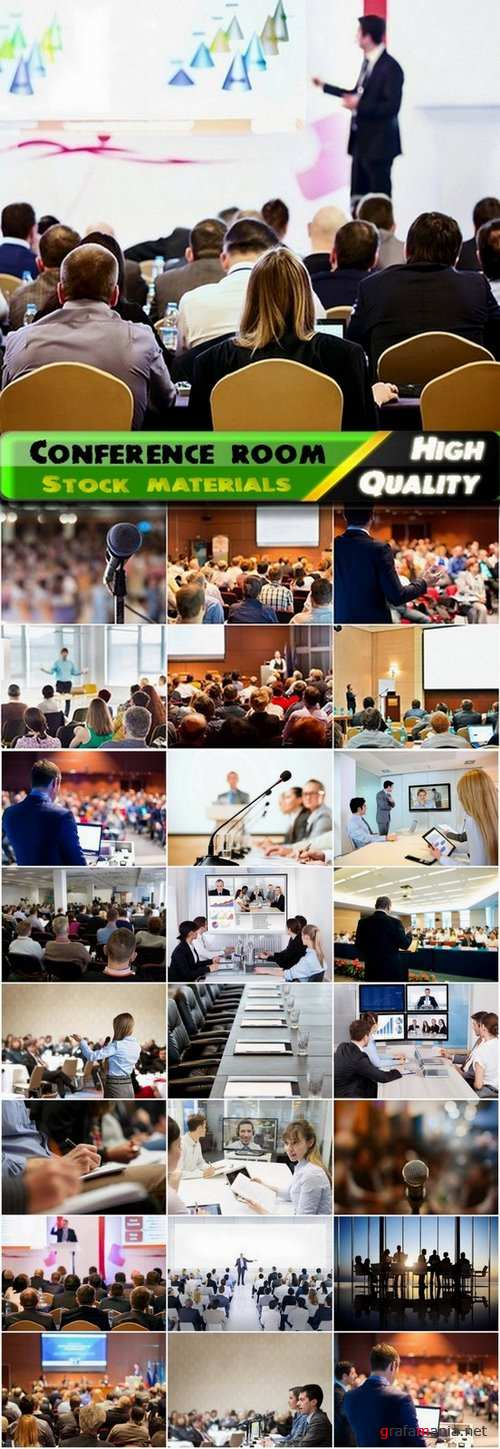 Conference and conference room business theme - 25 HQ Jpg