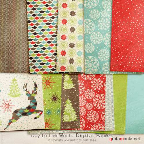 Digital Papers - Joy to the World