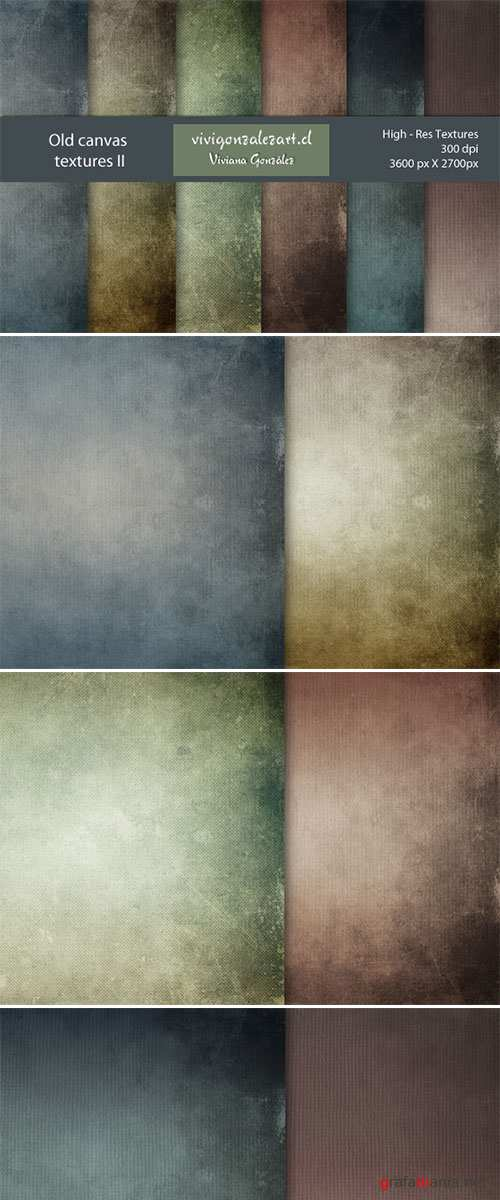 Old canvas textures 2