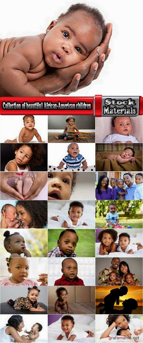 Collection of beautiful African-American children 25 UHQ Jpeg