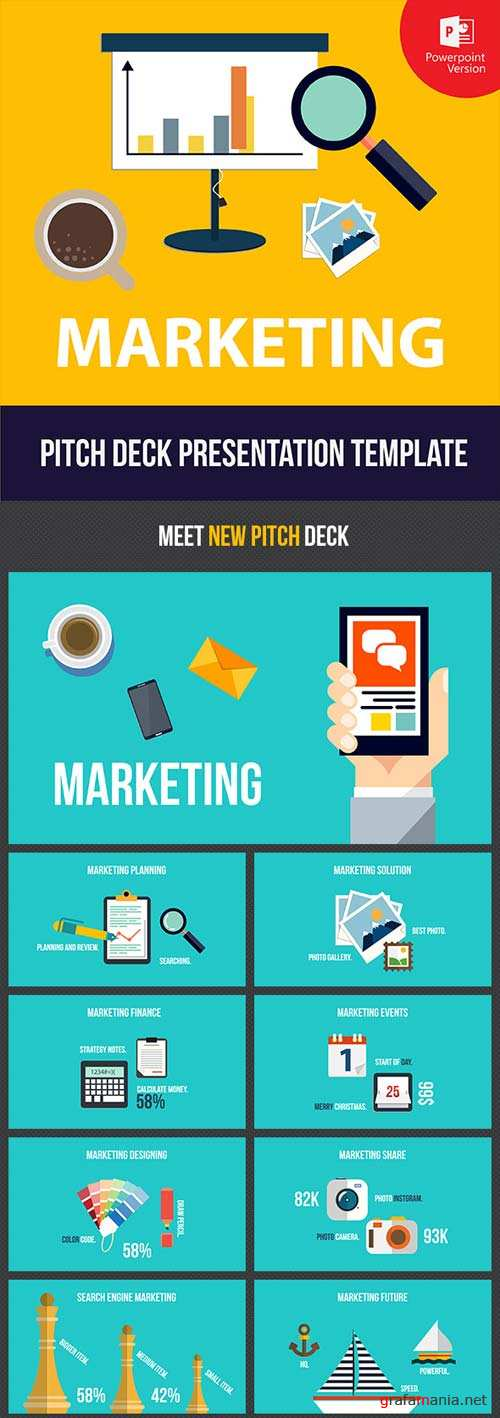 GraphicRiver Pitch Deck - MARKETING