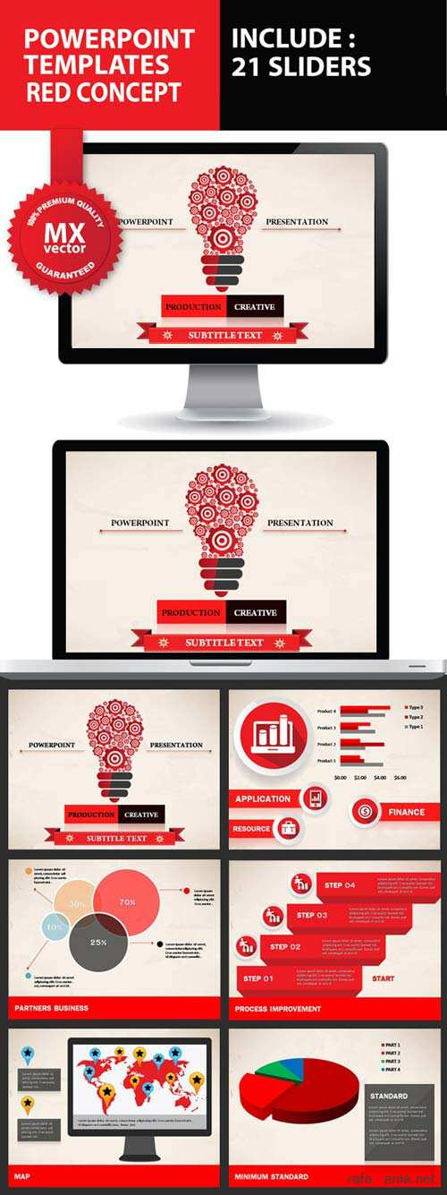 GraphicRiver Product Creative Powerpoint Presentation