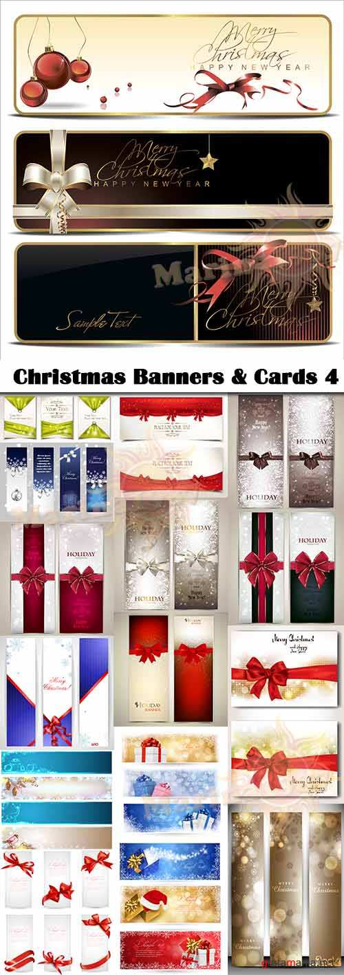 Christmas Banners & Cards 4