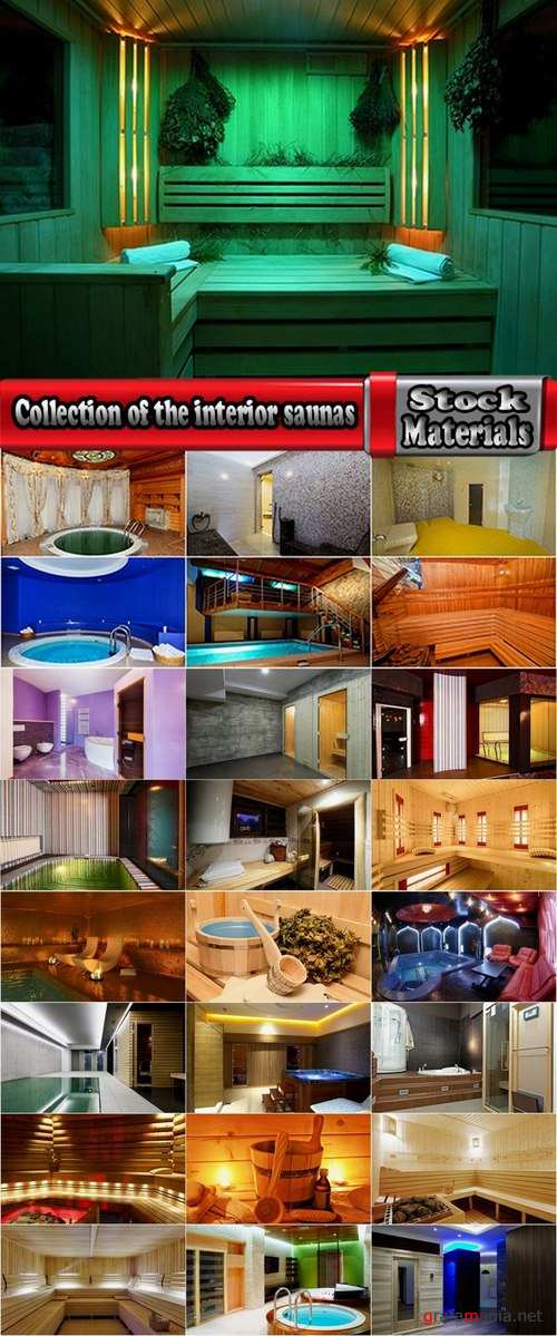 Collection of the interior saunas 25 UHQ Jpeg