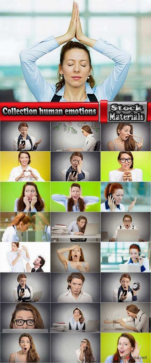 Collection human emotions 25 UHQ Jpeg
