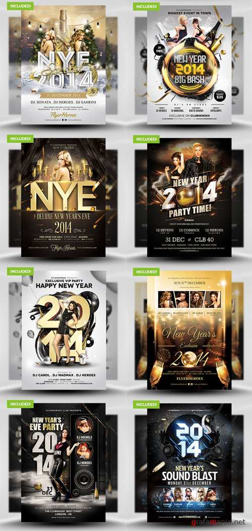 The New Years Eve Flyer Bundle 1