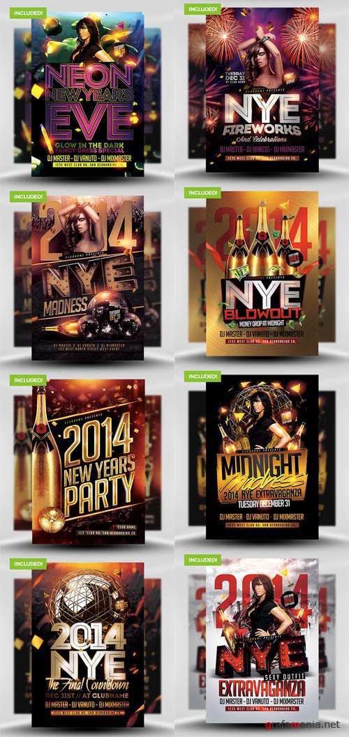 The New Years Eve Flyer Bundle 2