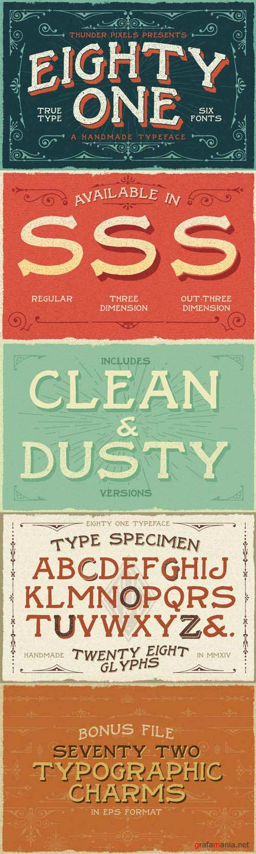 Eighty One Typeface Font